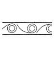persian design art of neighboring civilizations vector image vector image