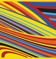 zebra pop abstract stripe pattern vector image