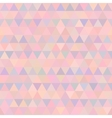 geometric triangle seamless pattern vector image