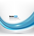 Abstract background Ligth blue curve and wave vector image vector image