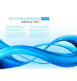 abstract blue elegant background with design vector image vector image