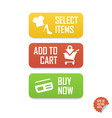 Add to cart buy now select items e-commerce