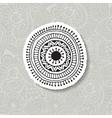 hand drawn Boho circular vector image vector image