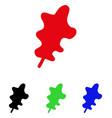 oak leaf icon vector image vector image