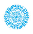 snowflake4 vector image vector image
