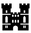 windsor castle solid vector image vector image