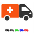 drug shipment flat icon vector image vector image