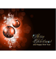 Elegant greetings background vector image vector image
