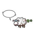 farting sheep-100 vector image vector image