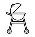 grill vector image