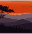image mountains landscape trees abstract eco