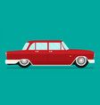 old school car flat vector image