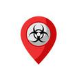 virus zone vector image vector image