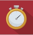 chronometer timer counter d icon vector image