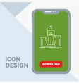 crown king leadership monarchy royal line icon in vector image vector image