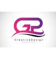 gp g p letter logo design creative icon modern vector image vector image