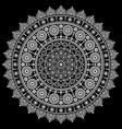 mandala design aboriginal dot painting vector image vector image
