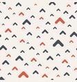 seamless color pattern arrows motif smooth arrows vector image vector image