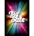 big sale on rainbow vector image vector image