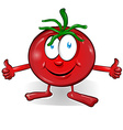 Fun tomato cartoon