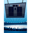 Hockey Sports stadiums vector image vector image