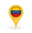 Location Venezuela vector image vector image