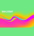vibrant gradient background rainbow vector image