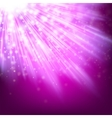 Abstract glowing lilac background EPS 10 vector image vector image
