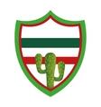 cactus desert plant icon vector image