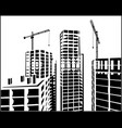 construction industry vector image vector image