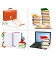 education design elements vector image
