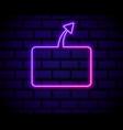 futuristic sci fi modern neon pink gradient vector image vector image