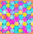 pink mosaic seamless pattern vector image vector image