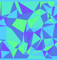 purple blue green low poly background square vector image vector image