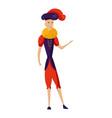 renaissance clothing man character vector image