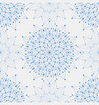 seamless geometric pattern with connected lines vector image