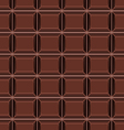 seamless pattern with chocolate texture vector image vector image