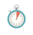 timer icon stopwatch vector image vector image