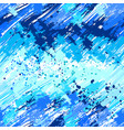 seamless painted blue paint vector image