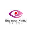 eye cam watch company logo vector image