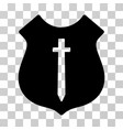 guard shield icon vector image vector image