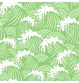 Seamless pattern with pink waves vector image vector image