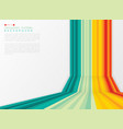 abstract summer stripe line colorful pattern of vector image vector image