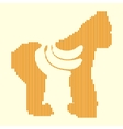 Animal hungry icon vector image