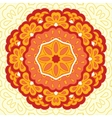 Arabesque Decorative element vector image