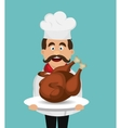 catering service design vector image vector image