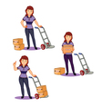 Female Remover Staff vector image vector image