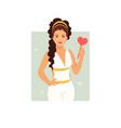 goddess aphrodite vector image