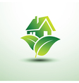 Green house6 vector image