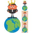 king world 2 vector image vector image